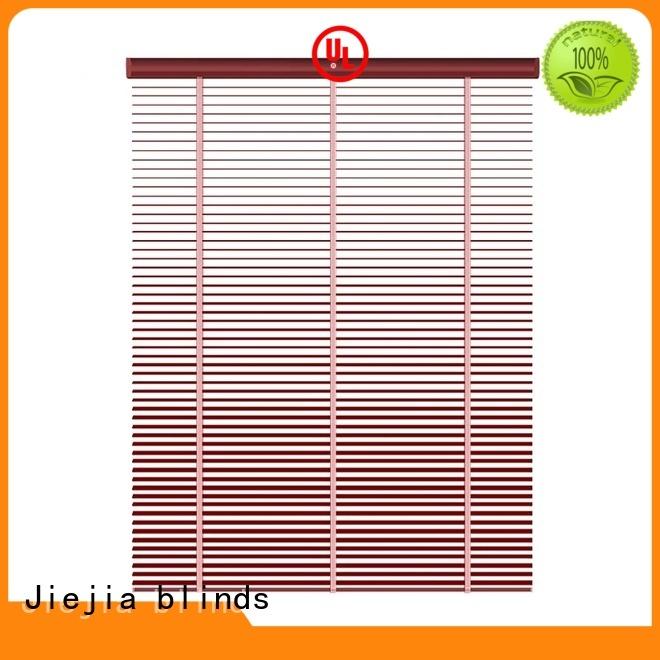 Jiejia basswood venetian blinds Supply restaurant