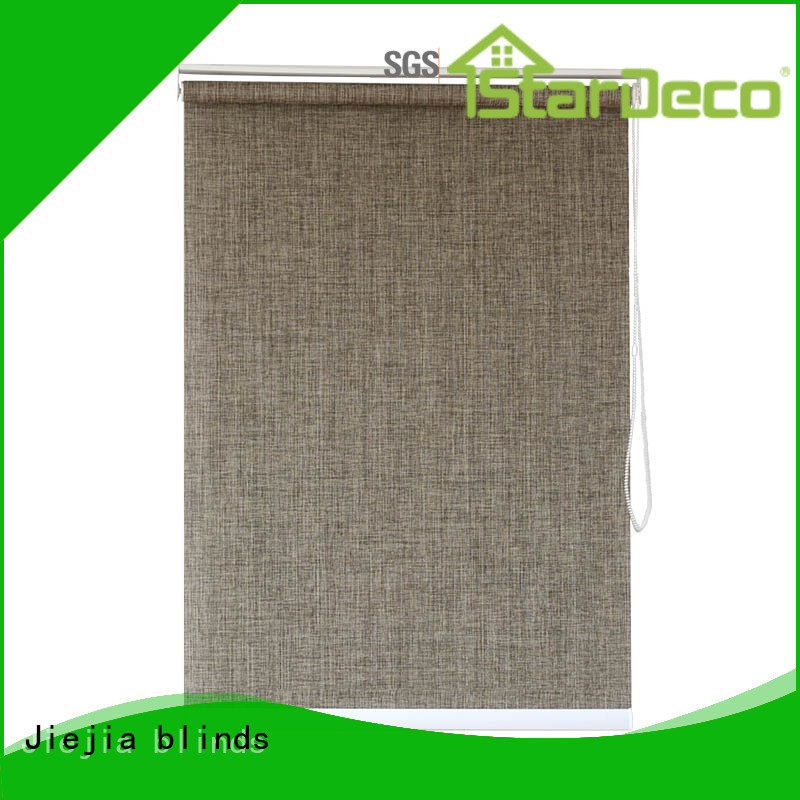 Jiejia Latest roller blind fabric to buy sunscreen restaurant