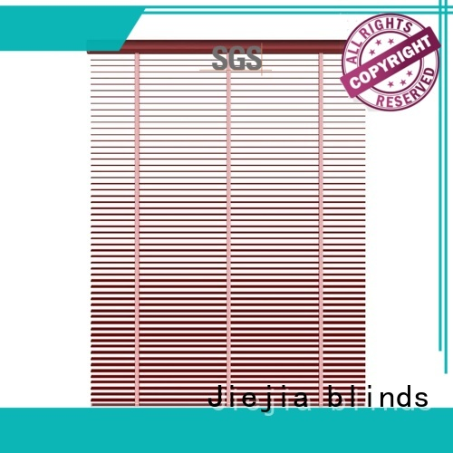 Jiejia sunscreen aluminium venetian blinds latest house