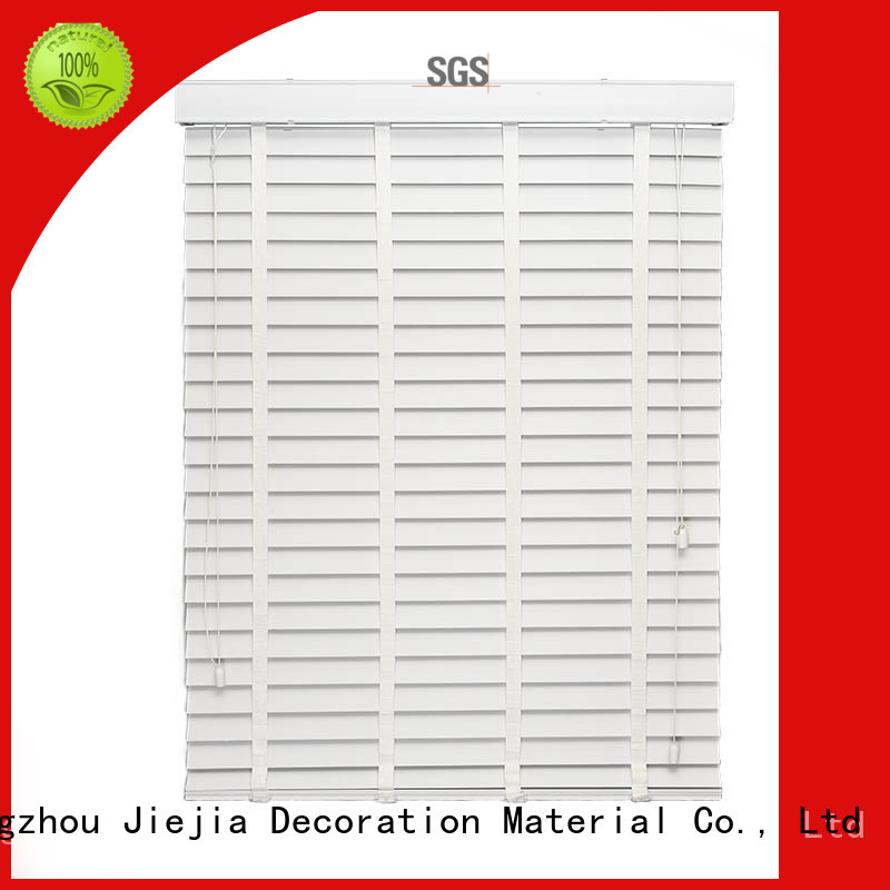 manual ladder vertical venetian blinds flameproof restaurant Jiejia