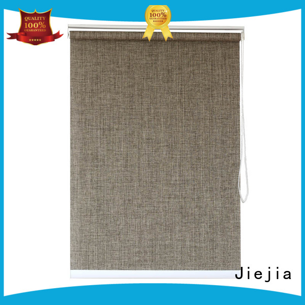 Jiejia modern design sunscreen roll up shades flameproof room