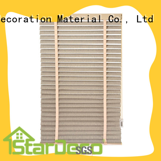 Stardeco Custom Ladder Belt Fabric Vertical Venetian Blinds