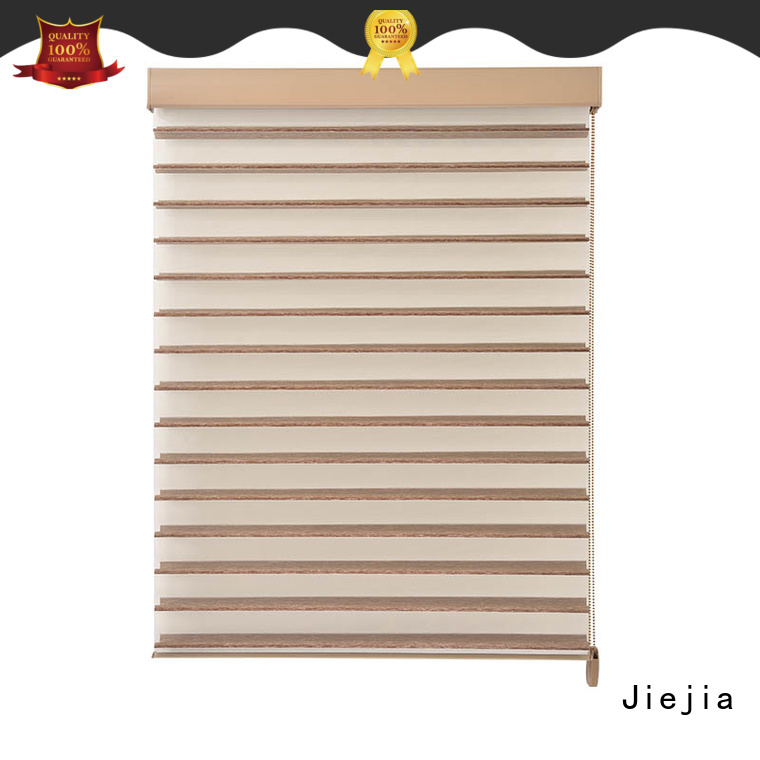 Jiejia odl enclosed blinds 100%Polyester restaurant