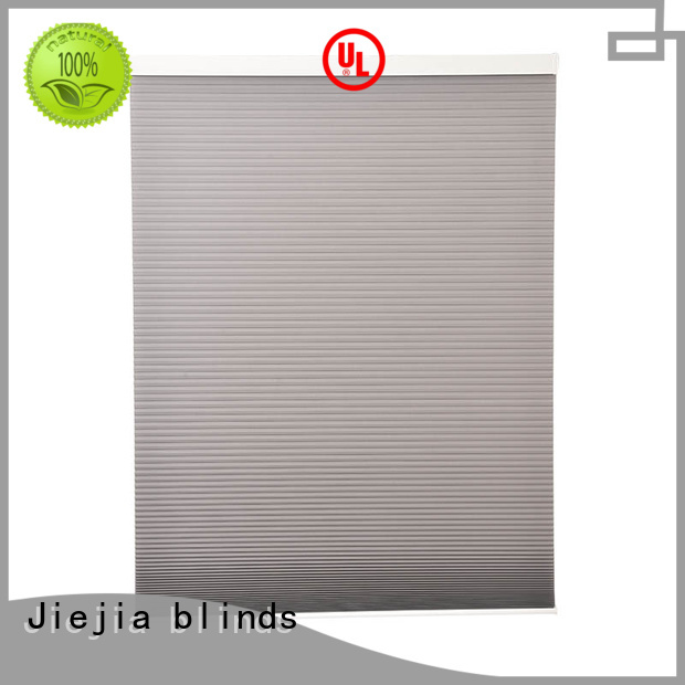 Jiejia custom top down cellular shades restaurant