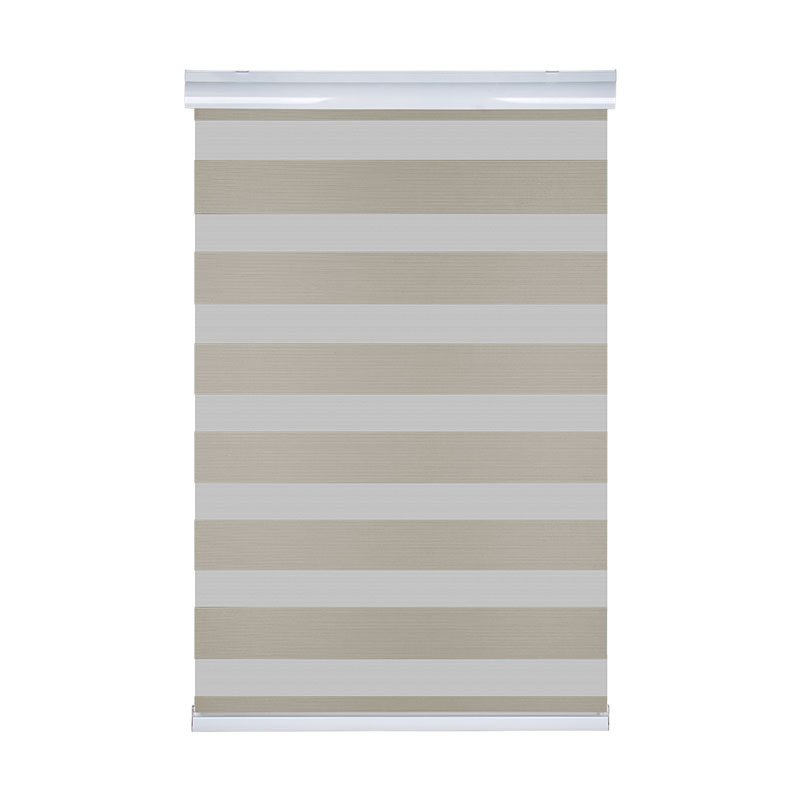 European Style Double-Layer Zebra Blackout Blinds