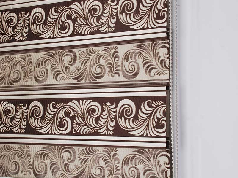 zebra window treatments restaurant Jiejia