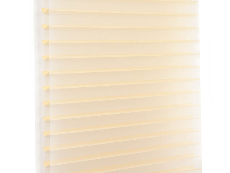 New horizontal sheer blinds french windows house-7