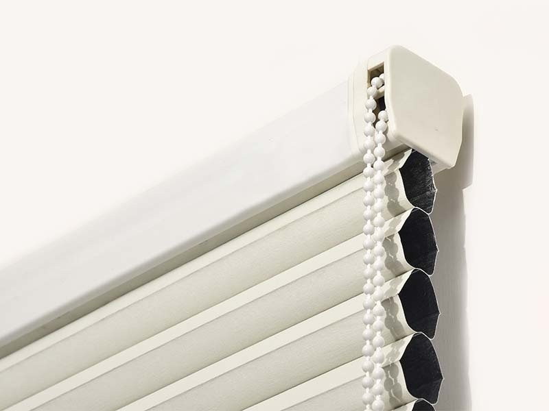 Stardeco Window Bead Chain Custom Blackout Double Cellular Shades