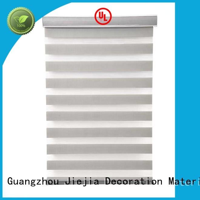 Jiejia zebra blind curtain motorized house