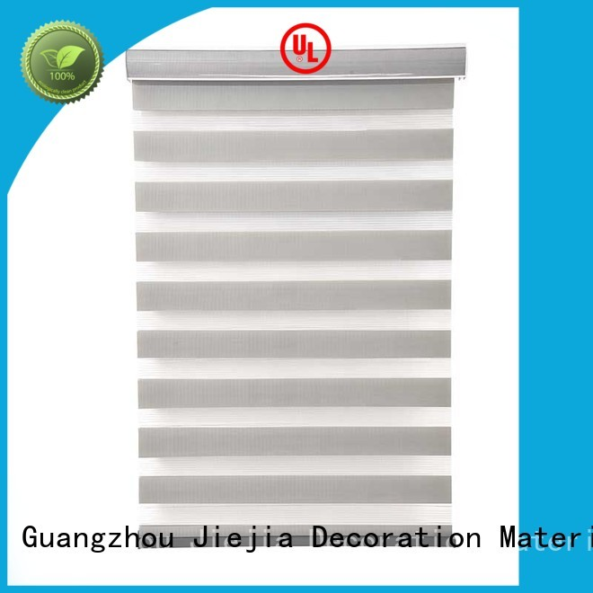 Jiejia zebra blind curtain motorized house