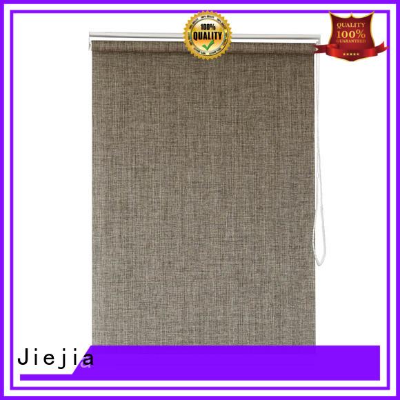 Jiejia Custom bottom up roller blinds anti-uv restaurant