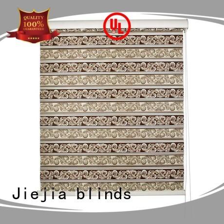 Jiejia manufacturer zebra window treatments motorized house