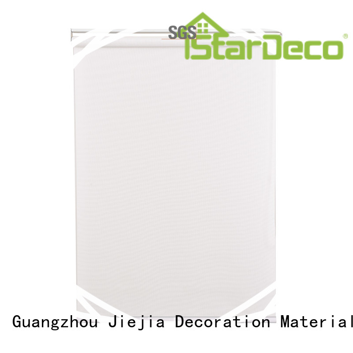 Jiejia custom sunscreen blind flameproof room