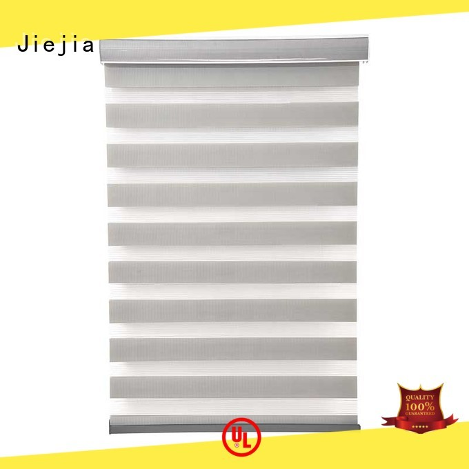 Jiejia zebra blind curtain high quality restaurant