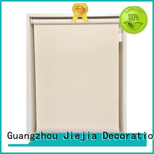 Jiejia custom sunscreen window coverings anti-uv restaurant