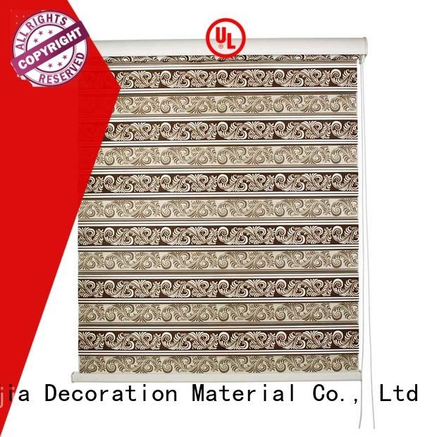 Jiejia new design zebra blind curtain high quality house