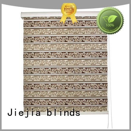 Jiejia zebra curtains blind motorized office