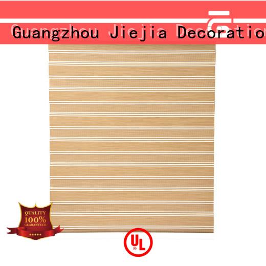 Jiejia new design zebra curtains for windows horizontal house