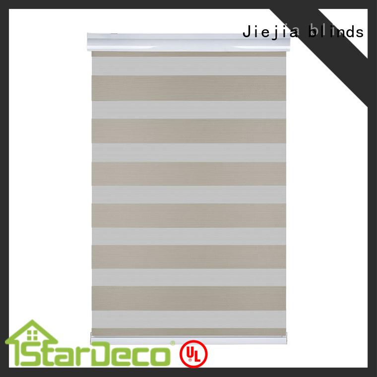 double-layer zebra shades window blinds flameproof house Jiejia