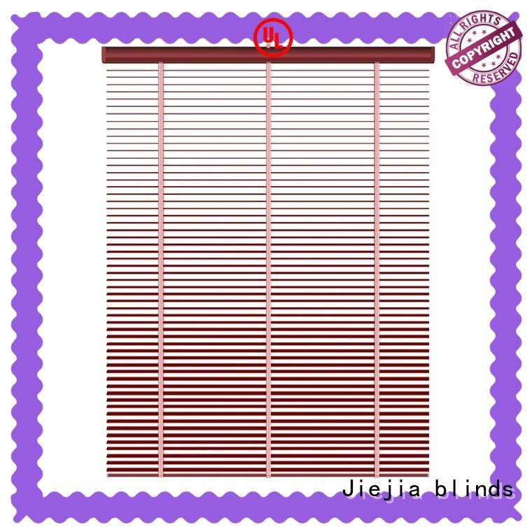 Jiejia metal venetian blinds at discount restaurant