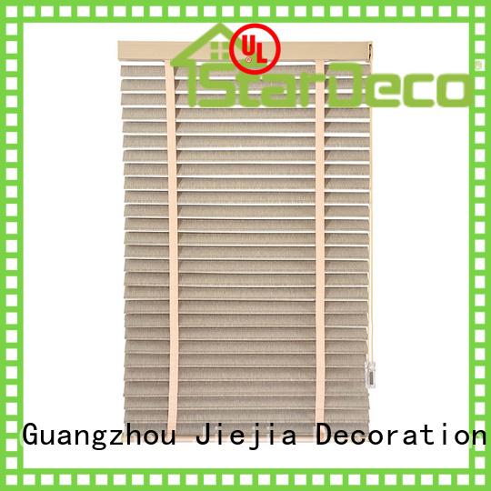 Jiejia manual ladder venetian window blinds anti-uv house