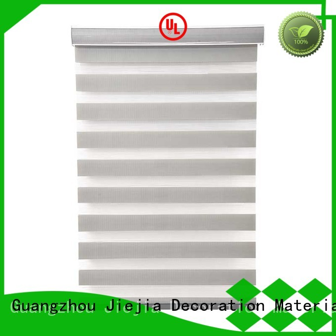 Jiejia manufacturer zebra blind curtain horizontal office