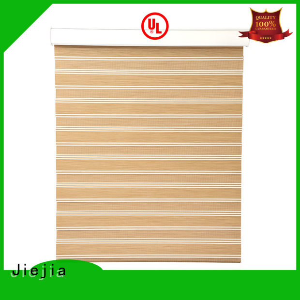 Jiejia horizental zebra window treatments office