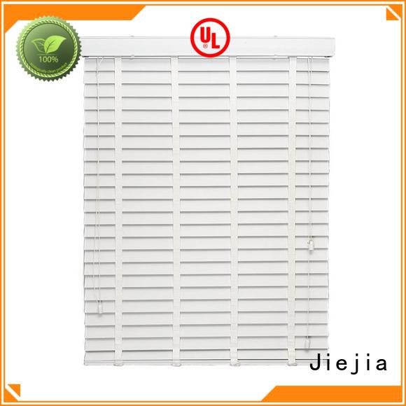 Jiejia wooden roman blinds anti-uv restaurant