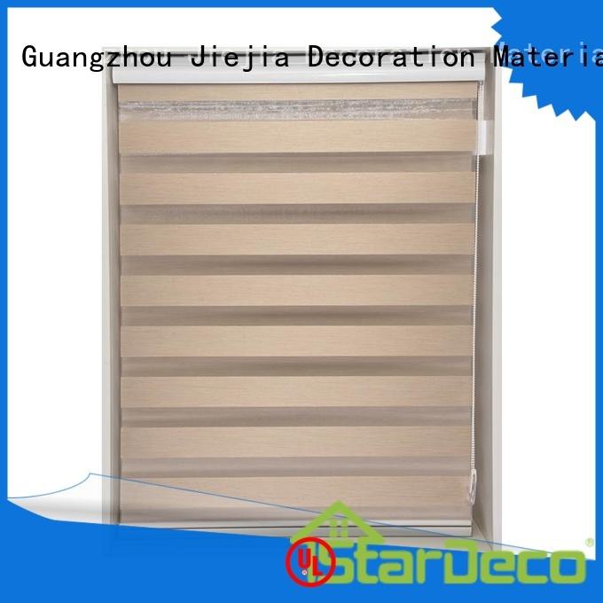 Jiejia zebra window coverings horizontal restaurant
