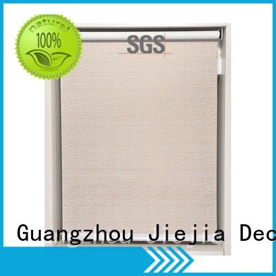 Jiejia electric blackout window shades insulated hotel