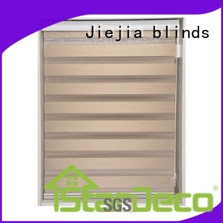 Jiejia zebra shade blinds motorized office
