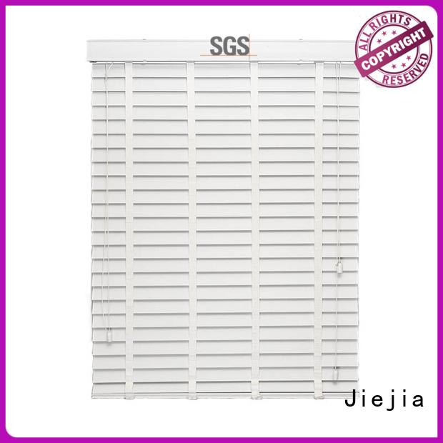 Jiejia wooden venetian blinds made to measure company restaurant