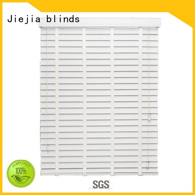 Jiejia vertical timber window blinds manufacturers room