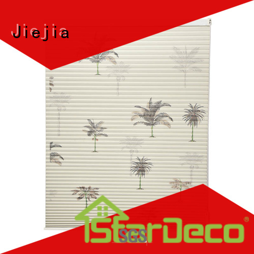 Jiejia New triple cell insulating blinds factory restaurant