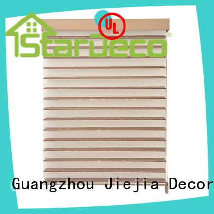 Jiejia OEM shangri la blinds 100%Polyester room