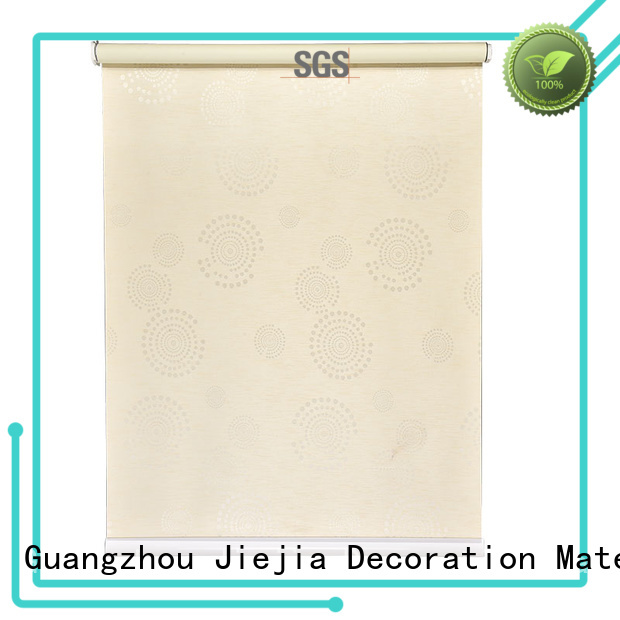 Jiejia Top brown and cream roller blinds insulated restaurant