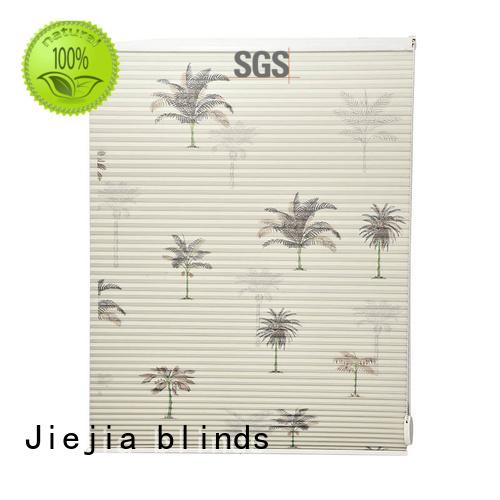 Jiejia decolative cellular shades blinds heat insulation house