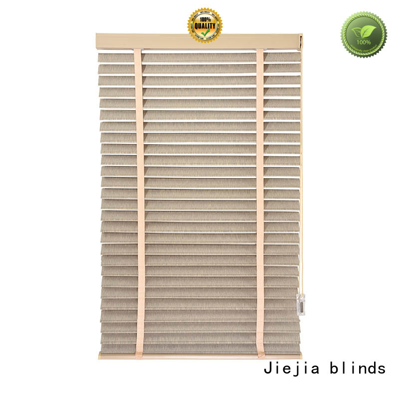 Jiejia wooden blinds colours flameproof room