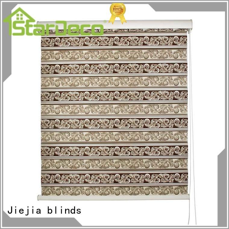 Jiejia manufacturer zebra shutters horizontal restaurant