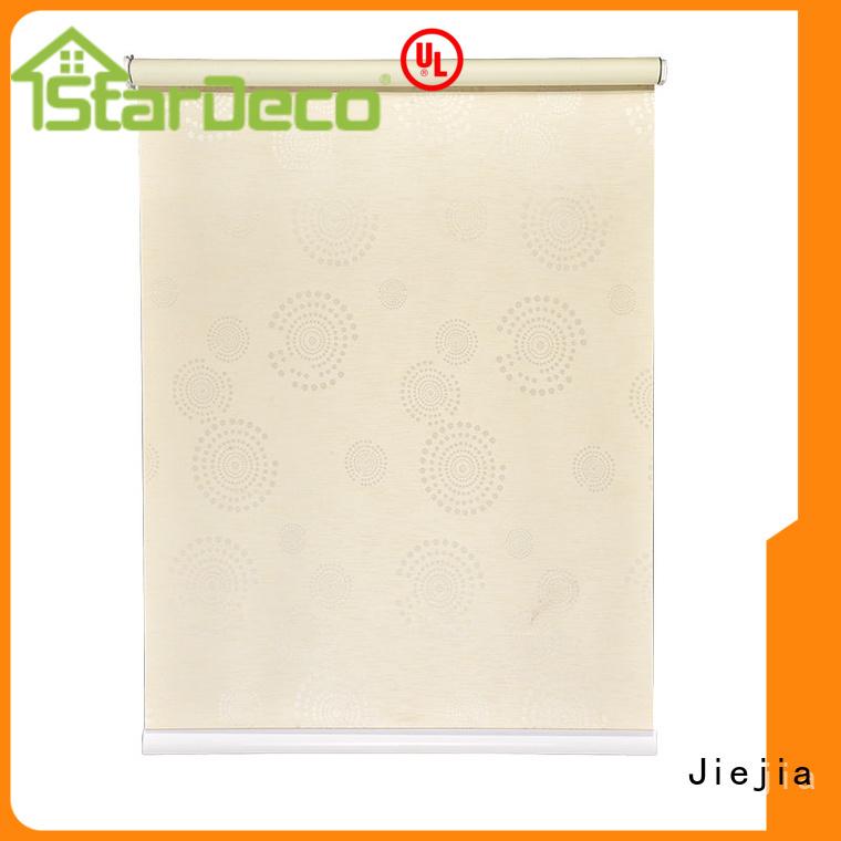 Jiejia blackout roller blinds insulated restaurant