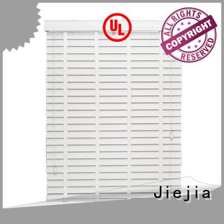 Jiejia custom timber venetian blinds anti-uv house