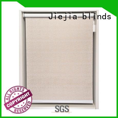 Jiejia electric adjustable blackout roller blind durable house