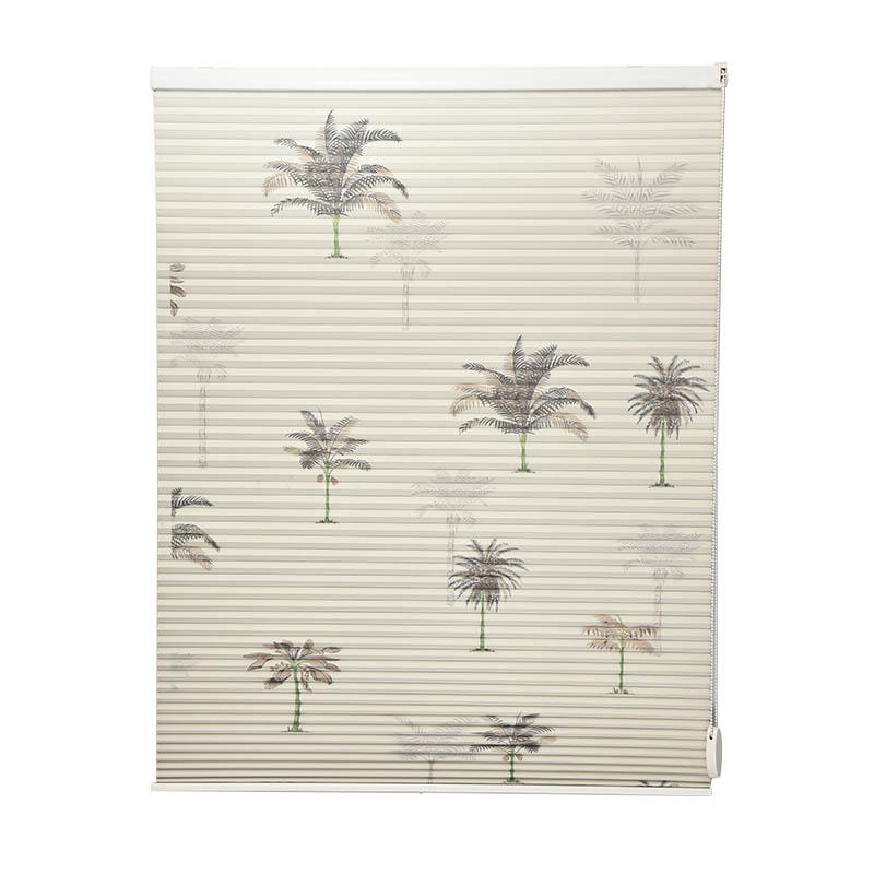 Stardeco Window Bead Chain Custom Blackout Double Cellular Shades-1