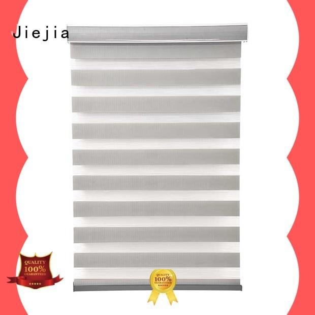 zebra window treatments restaurant Jiejia