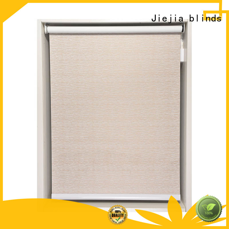 Jiejia beautiful appearance blackout roller shades durable house