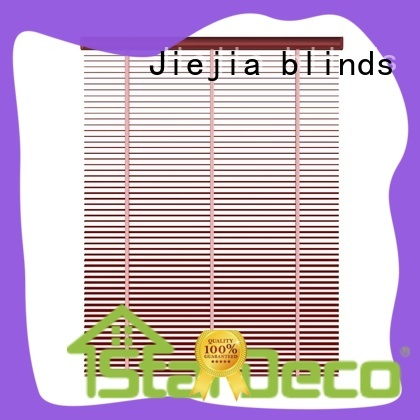 Jiejia aluminium venetian blinds at discount restaurant