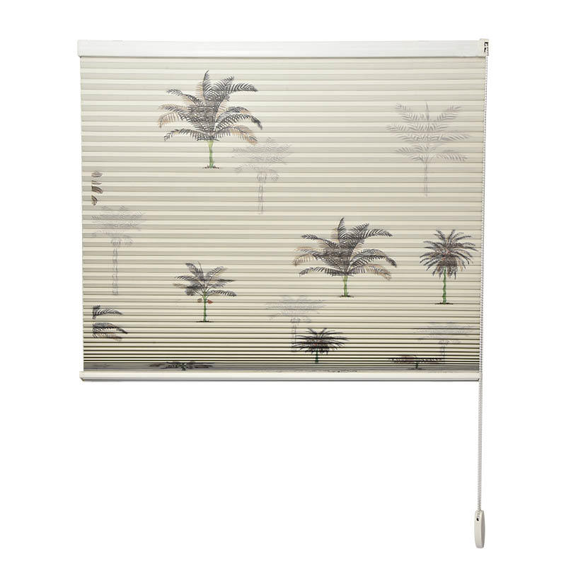 Stardeco Window Bead Chain Custom Blackout Double Cellular Shades-2