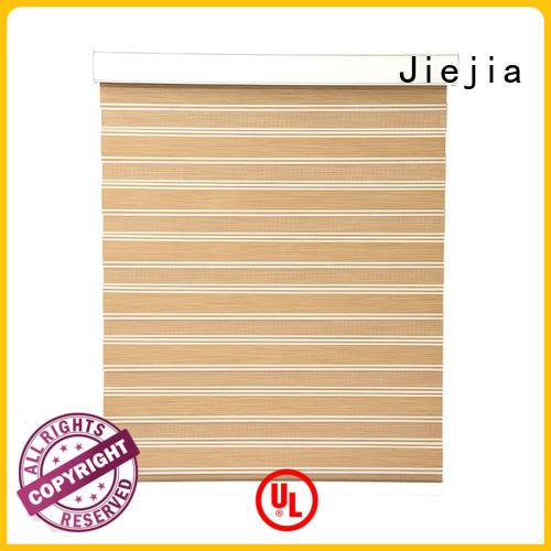 Jiejia zebra curtains blind motorized restaurant