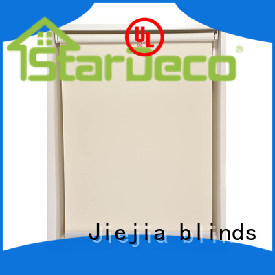 Jiejia sunscreen roll up shades flameproof room