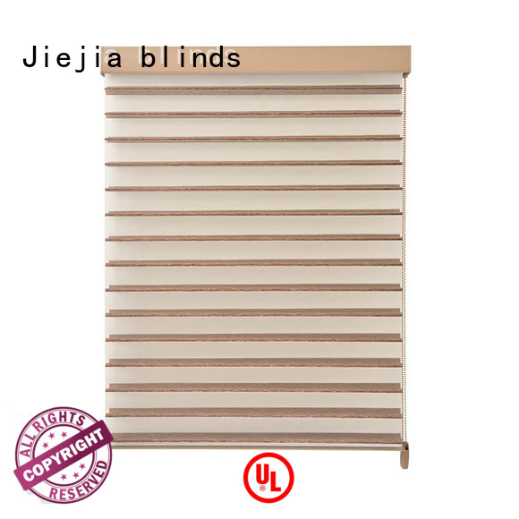 Jiejia ODM shangri la window shades french windows room